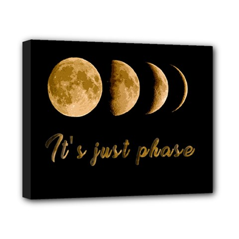 Moon phases  Canvas 10  x 8