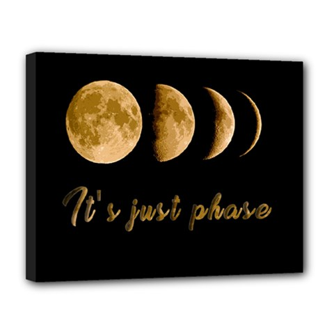 Moon phases  Canvas 14  x 11