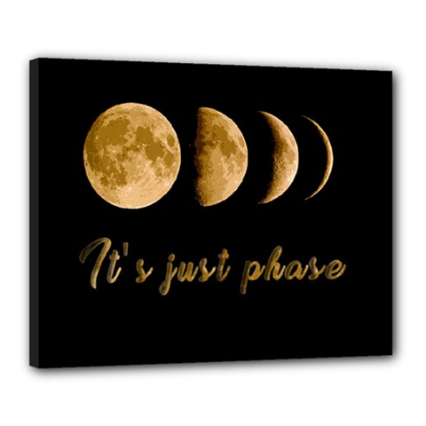 Moon phases  Canvas 20  x 16