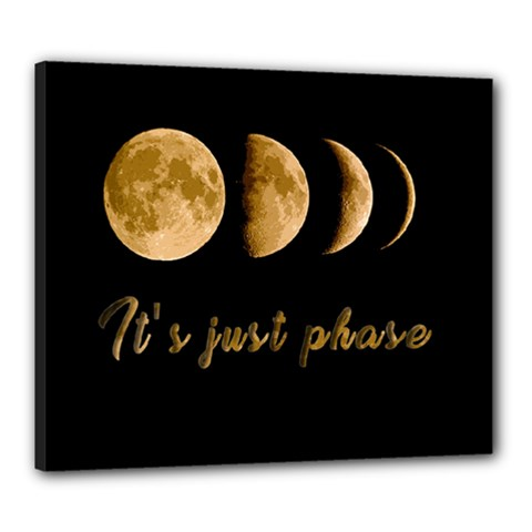 Moon phases  Canvas 24  x 20