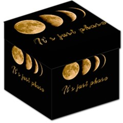 Moon phases  Storage Stool 12