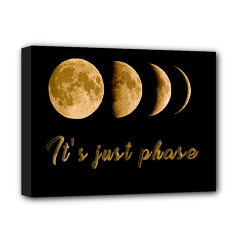 Moon phases  Deluxe Canvas 16  x 12