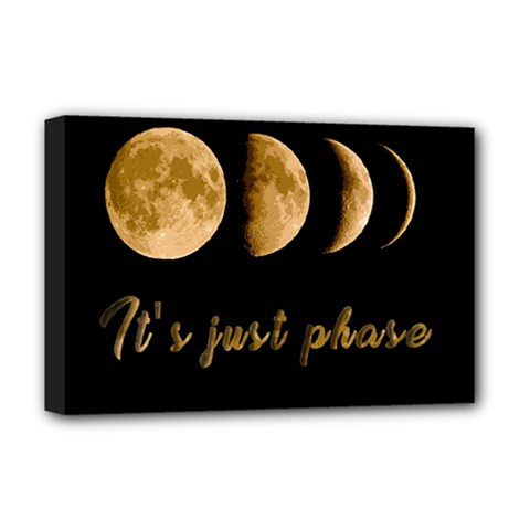 Moon phases  Deluxe Canvas 18  x 12