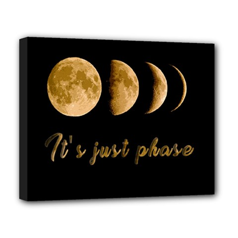 Moon phases  Deluxe Canvas 20  x 16