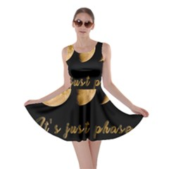 Moon phases  Skater Dress