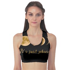 Moon phases  Sports Bra