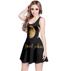 Moon phases  Reversible Sleeveless Dress
