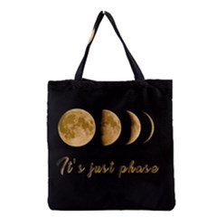 Moon phases  Grocery Tote Bag