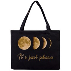 Moon phases  Mini Tote Bag