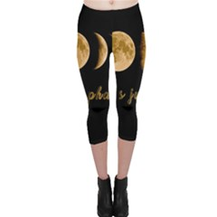 Moon phases  Capri Leggings