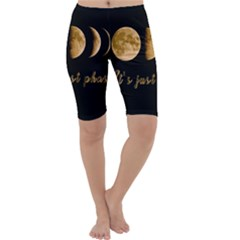 Moon phases  Cropped Leggings