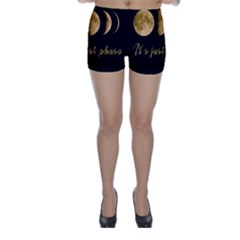 Moon phases  Skinny Shorts