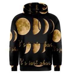 Moon phases  Men s Pullover Hoodie