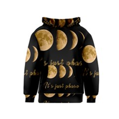 Moon phases  Kids  Pullover Hoodie