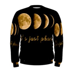 Moon phases  Men s Sweatshirt