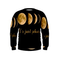 Moon phases  Kids  Sweatshirt
