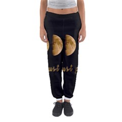 Moon phases  Women s Jogger Sweatpants