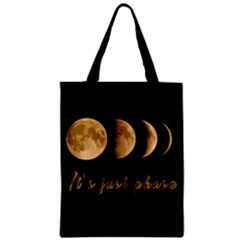 Moon phases  Zipper Classic Tote Bag