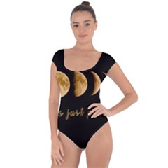 Moon phases  Short Sleeve Leotard