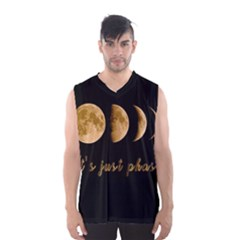 Moon phases  Men s Basketball Tank Top