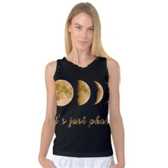 Moon phases  Women s Basketball Tank Top