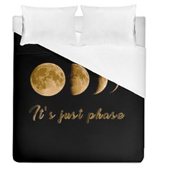 Moon phases  Duvet Cover (Queen Size)