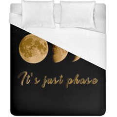 Moon phases  Duvet Cover (California King Size)