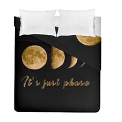 Moon phases  Duvet Cover Double Side (Full/ Double Size)