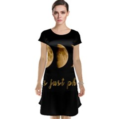 Moon phases  Cap Sleeve Nightdress