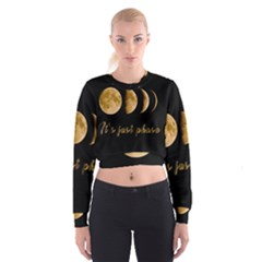 Moon phases  Cropped Sweatshirt