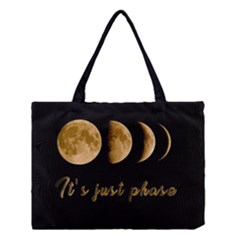 Moon phases  Medium Tote Bag