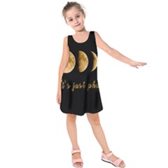 Moon phases  Kids  Sleeveless Dress