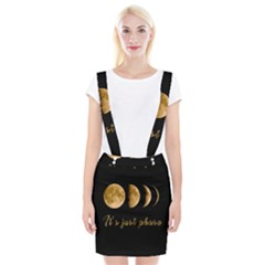 Moon phases  Braces Suspender Skirt