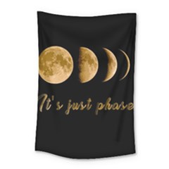 Moon phases  Small Tapestry