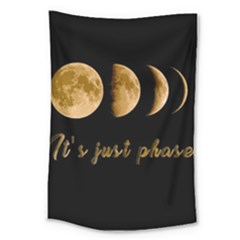 Moon phases  Large Tapestry