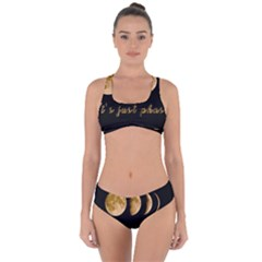 Moon phases  Criss Cross Bikini Set