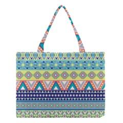 Tribal Print Medium Tote Bag