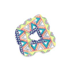 Tribal Print Velvet Scrunchie