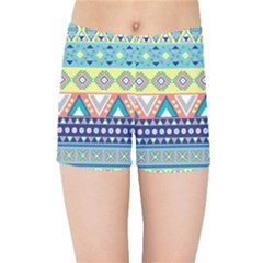 Tribal Print Kids Sports Shorts