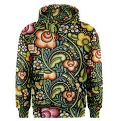 Bohemia Floral Pattern Men s Pullover Hoodie