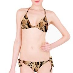 Animal Fabric Patterns Bikini Set