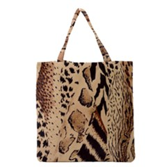 Animal Fabric Patterns Grocery Tote Bag