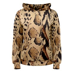 Animal Fabric Patterns Women s Pullover Hoodie