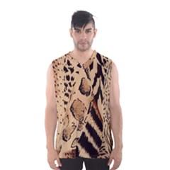 Animal Fabric Patterns Men s Basketball Tank Top