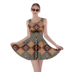 Knitted Pattern Skater Dress