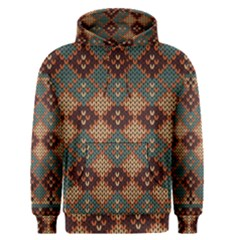 Knitted Pattern Men s Pullover Hoodie
