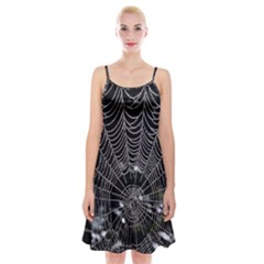 Spider Web Wallpaper 14 Spaghetti Strap Velvet Dress