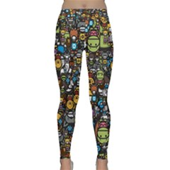 Many Funny Animals Classic Yoga Leggings