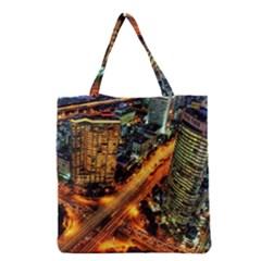 Hdri City Grocery Tote Bag
