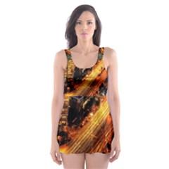 Hdri City Skater Dress Swimsuit
